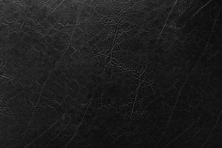 Black leather texture, old black leather texture background