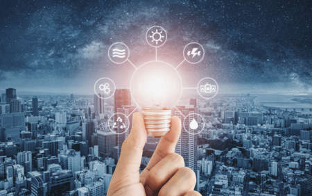 Energy saving, clean energy and smart energy