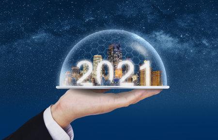2021 new smart city, buildings technology