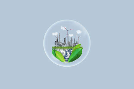 Clean energy, eco-friendly and energy resources concept.
