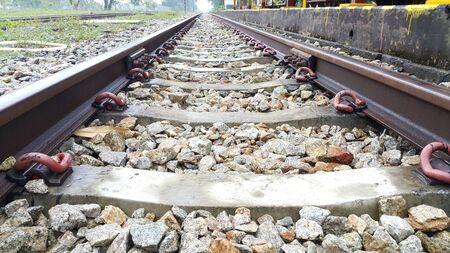 lejos: tren lejos Foto de archivo