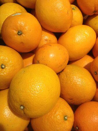 closeup: A pile of orange