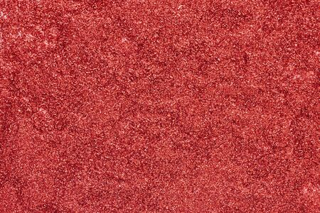 Abstract texture. Red glitter background