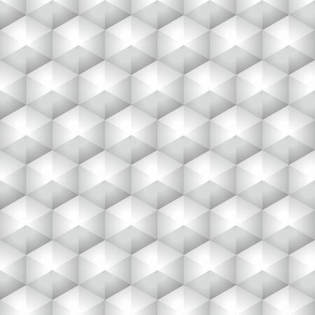 flowerbed: Polygonal gray and silver geometric