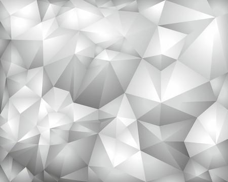 Grey vector polygonal background