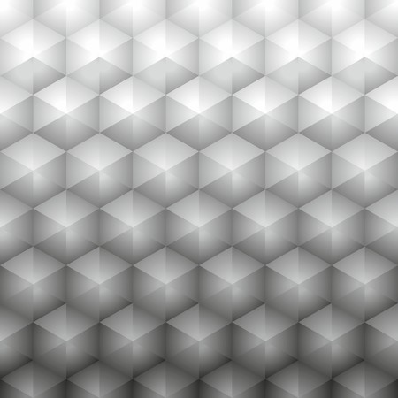 hoary: Polygonal geometric gray background Illustration