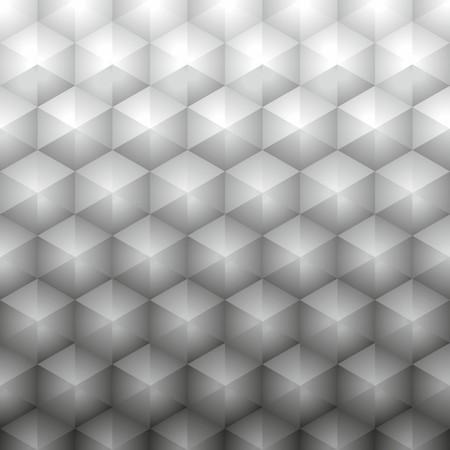 Polygonal geometric gray background Illustration