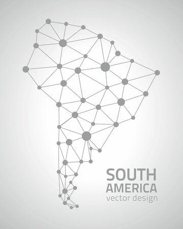 savour: south america Illustration