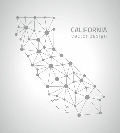 California dot triangle contour maps