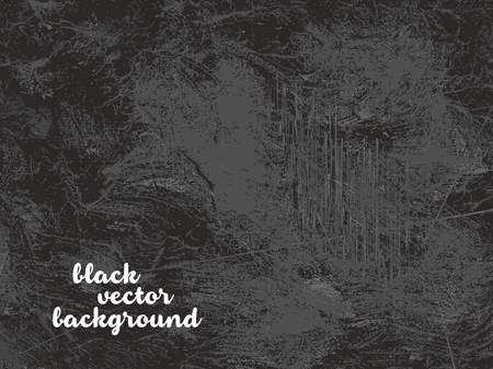 obnoxious: Black grunge and dirty vector background
