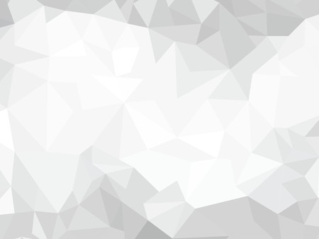 Gray vector polygonal background