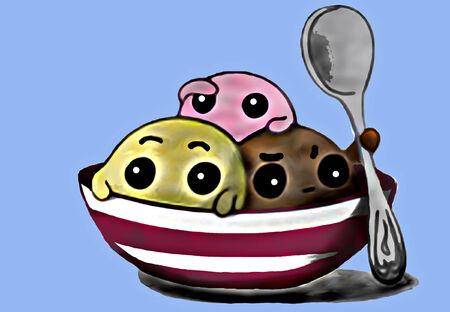 Ice Cream Иллюстрация