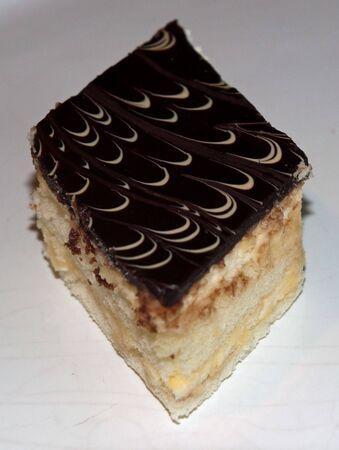 chocolate cream  pastry