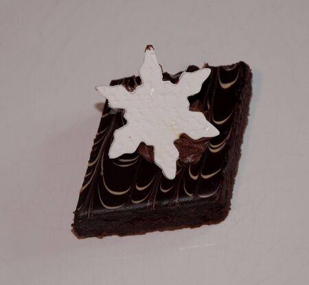 shaped: star shaped fudge