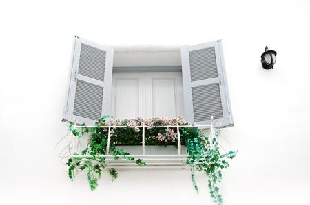 Greek Style window Stock Photo - 16258589