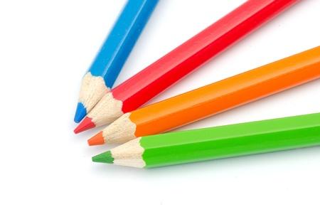 Wooden color pencils Stock Photo - 16767464