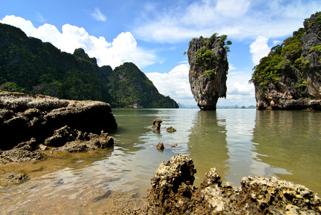 James Bond Island on Phang Nga Bay, Thailand photo