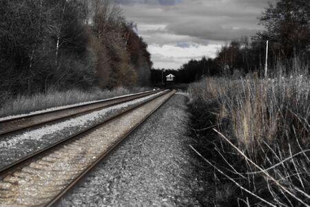 railtrack: railtracks Stock Photo