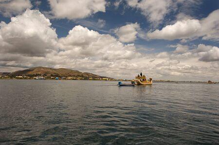lake titicaca Stock Photo