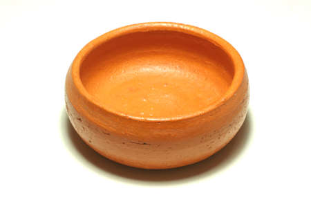 Thai souvenir earthen ware basin