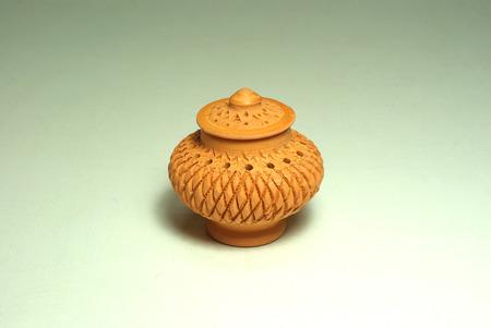wares: Thai souvenir earthenware pot