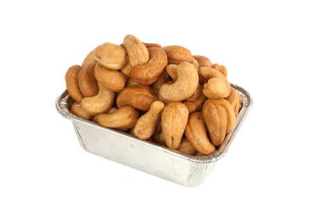 cashews: Roasted cashews Stock Photo