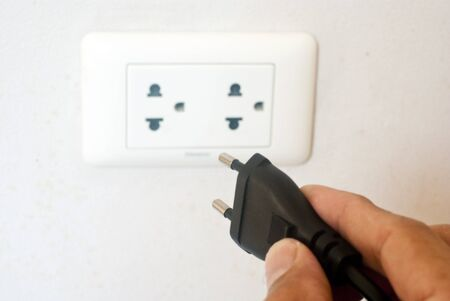 unplugging: Electric Plug