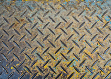 checker plate: Texture of floor made by Checker plate