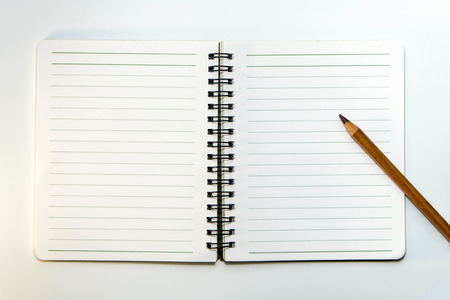 lined paper: Lined paper of  Note Book and Pencil