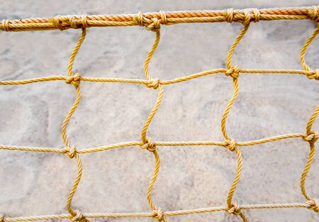 mesh: Mesh net of beach volleyball