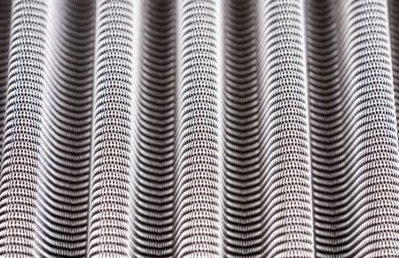 metal mesh: Metal grill texture of vehicle air filter