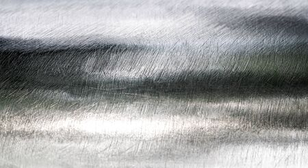 brushed: Texture of shiny scratch surface stainless steel round bar