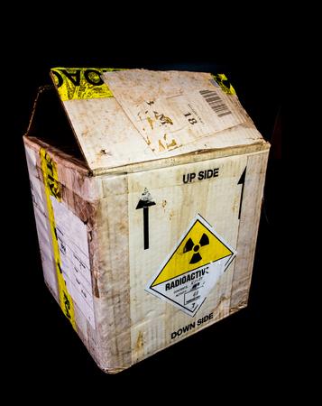 소형 방사성 물질 운송용 종이 상자 포장 유형 A 스톡 콘텐츠