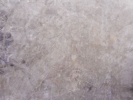 Cracks and Stain on surface of polished concrete wall
