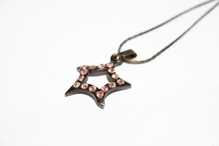 star pendant on isolated background Stock Photo - 2533022