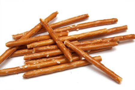 pretzel stick: bread stricks