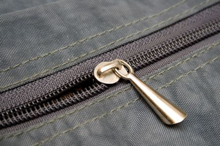 undressing: fastener close-up