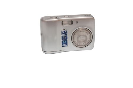 modern digital camera isolated on white Stock Photo - 3610648