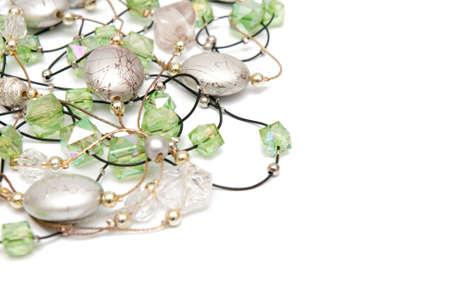 jewelry on white photo