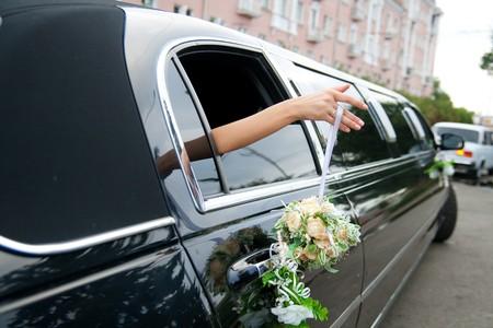 weddung limousine photo