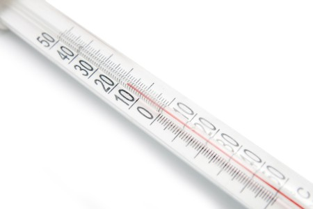 thermometer isolated photo