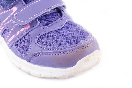 brand old purple sneakers photo