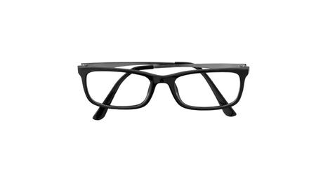 Eye glasses isolated on white background.
