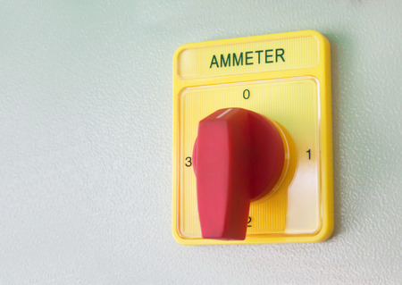 Electrical equipment for the ammeter photo