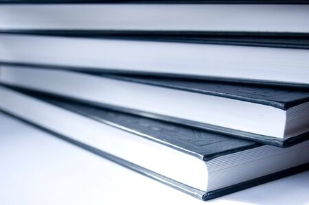 Books conceptual image. Books on lying. photo