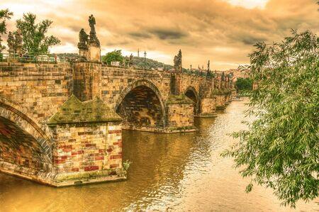 Charles bridge in Prague. Stock Photo - 7971735