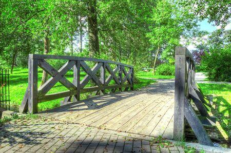 Park. Green park at summer. Stock Photo - 7971756