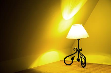 bedside: Turned on bedside lamp.