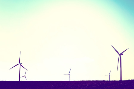 windmills: Windmills on the field