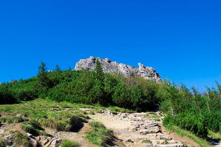 skala: Tatra mountains. Sarnia Skala in Tatra mountains, Poland.